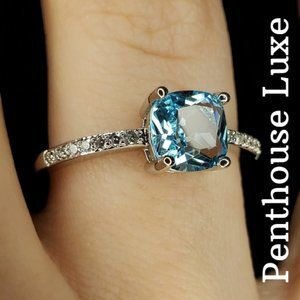 Sky Blue Topaz 925 Sterling Silver Ring